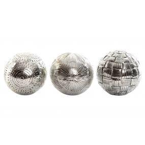 DECORATION BALL RESIN 10X10X10 3 MOD.