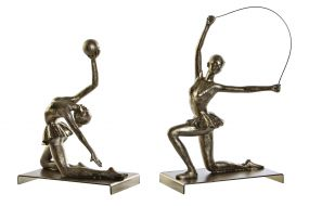 FIGURE RESIN METAL 18X12,5X26 DANCER 2 MOD.