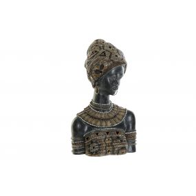 FIGURE RESIN 22X15X38 AFRICAN BEIGE