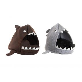 PET HOME FELT COTTON 53X46X40 SHARK 2 MOD.