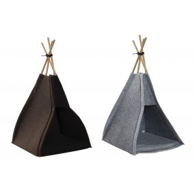 PET HOME FELT WOOD 35X38X73 TIPI 2 MOD.