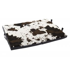 PET BED COTTON POLYESTER 78X54X4 BROWN