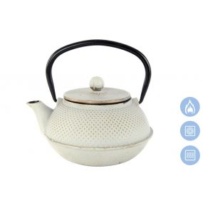 TEAPOT CAST IRON 18X15X12 800 ML. INFUSIONER