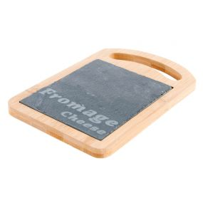TRAY BAMBOO BOARD 18,5X12,5 FROMAGE NATURAL BROWN