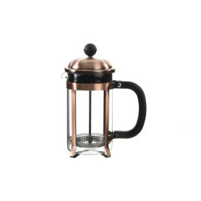 COFFEE MACHINE INOX GLASS 600ML PLUNGER