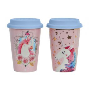 MUG PORCELAIN 8,9X5,9X11 400ML THERMAL 2 MOD.