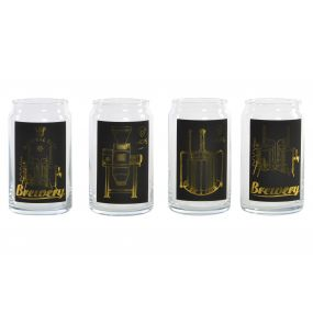 GLASS BOROSILICATE 7,5X13 BEER 4 MOD.