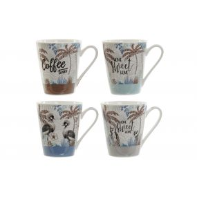 MUG PORCELAIN 12,5X9X11 310 TROPICAL 4 MOD.