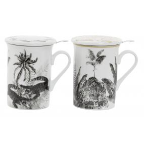 MUG INFUSIONES PORCELANA 10,5X8X11 280 TROPICAL 2