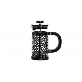 COFFEE MACHINE INOX 350ML BLACK
