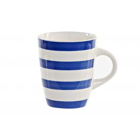 MUG STONEWARE 8,8X8,8X11 330ML. BLUE