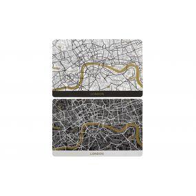 TRIVET PP 43,5X28,5 MAPS 2 MOD.