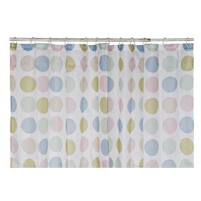 CURTAIN POLYESTER 180X200 TOPOS PALE PINK