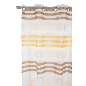 CURTAIN POLYESTER 140X275 YELLOW
