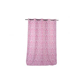 CURTAIN POLYESTER 140X270 PINK