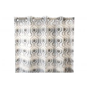 CURTAIN POLYESTER 140X270 CENEFA GREY