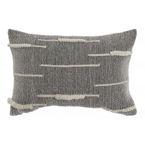 CUSHION COTTON 60X40 480 GR. GREY
