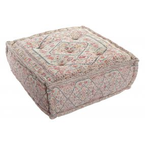 FLOOR CUSHION COTTON 60X60X25 4 KG. AGED