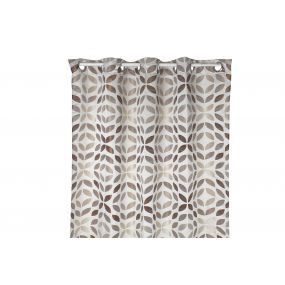 CURTAIN POLYESTER 140X270 160 GSM. LEAVES