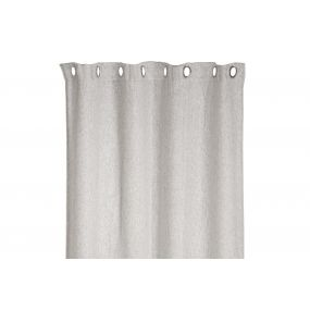 CURTAIN POLYESTER 140X270 370 GSM. SMOOTH OPAQUE