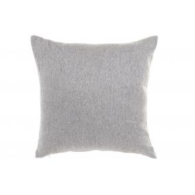 CUSHION POLYESTER 45X45 650 GR. SMOOTH LIGHT GRAY