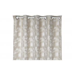 CURTAIN POLYESTER 140X270 180 GSM. BEIGE