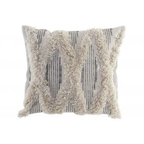 CUSHION COTTON POLYESTER 45X45 722 GR. EMBROIDERY