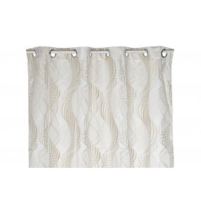 CURTAIN POLYESTER 140X0,5X270 180 GSM. BEIGE