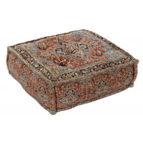 FLOOR CUSHION COTTON 60X60X23 4,5 KG. FLECOS