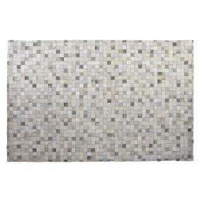 CARPET SKIN 178X122 COW NATURAL MULTICOLORED