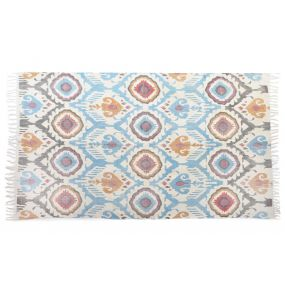 CARPET COTTON 230X160 1000 GSM. ETHNIC WORN OUT