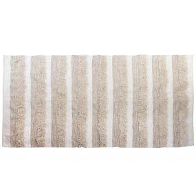 CARPET COTTON 230X160 5,38 POMPON WHITE