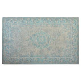 CARPET COTTON POLYESTER 200X290 8 DIVINE TURQUOISE