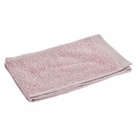 TOWEL COTTON 30X50 550 GSM. PALE PINK