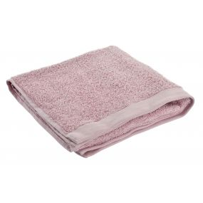 TOWEL COTTON 50X100 550 GSM. SINK PALE PINK