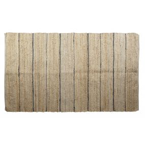 CARPET JUTE COTTON 230X160 1800 GSM. NATURAL