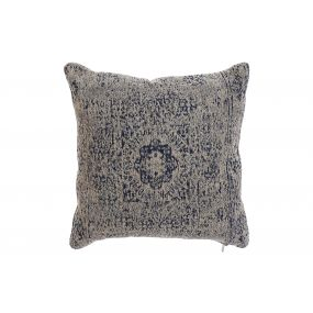CUSHION COTTON 45X12X45 NOMAD BLUE