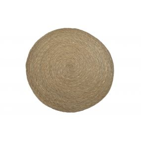 ALFOMBRA FIBRA SEAGRASS 80X80 NATURAL