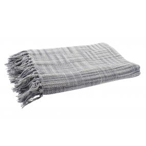 PLAID COTTON 130X170 FLECOS