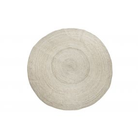 CARPET JUTE 160X160 160 NATURAL