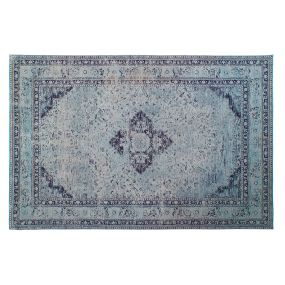 CARPET COTTON 200X290X1 2200GSM. AGED BLUE