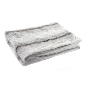 BLANKET POLYESTER 150X200 270 GSM. TWO-COLORED