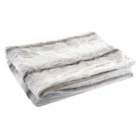BLANKET POLYESTER 130X170 270 GSM. TWO-COLORED