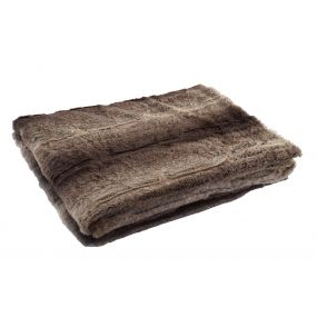 BLANKET POLYESTER 150X200 260 GSM. BROWN