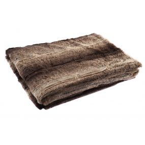 BLANKET POLYESTER 130X170 260 GSM. BROWN
