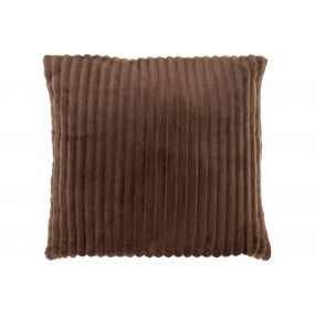 CUSHION POLYESTER 45X45 380 GR. BROWN
