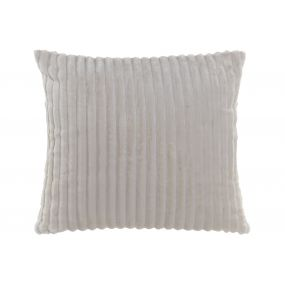 CUSHION POLYESTER 45X45 380 GR. IVORY