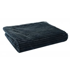 BLANKET POLYESTER 150X200X2 380 GSM. BLUE