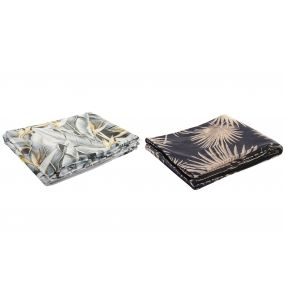 BLANKET POLYESTER 130X160 240 GSM. TROPICAL 2 MOD.