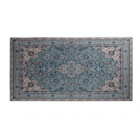 CARPET POLYESTER 160X230X0,5 000 GSM. ETHNIC BLUE
